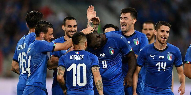 Italia - Arabia Saudita 2-1, la prima volta di Roberto Mancini