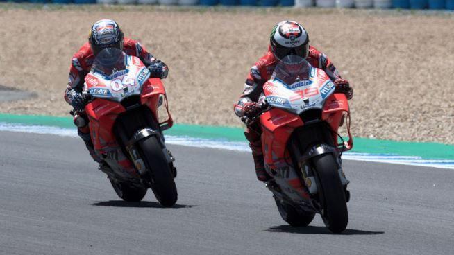 MotoGP: doppietta Ducati al Mugello! Rossi terzo, cade Marquez